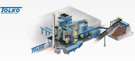 Tolko Industries Plywood Mill